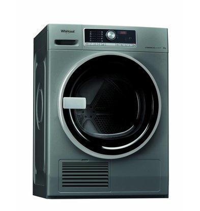 Whirlpool Condensdroger 8kg | AWZ 8CD S/PRO | Silver Line |  6°Sense sensoren | Perfecte combinatie met de 8kg Silver Line wasmachine
