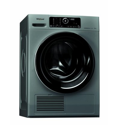 Whirlpool Condensdroger 9kg | AWZ 9CD S/PRO | Silver Line | 6°Sense sensoren | Perfecte combinatie met de 9kg Silver Line wasmachine