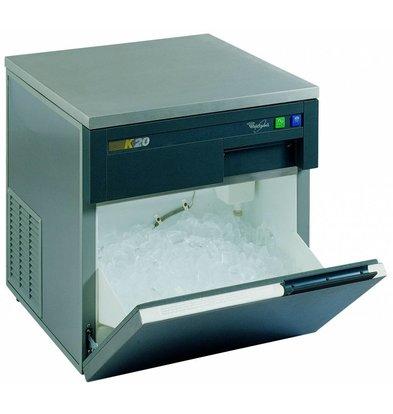 Whirlpool Rvs Ijsblokjes machine 20kg/24h | AGB022 | Volle Ijsblokken | 555x535x(H)590mm