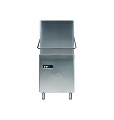 Whirlpool Pro Basic Pass-through Dishwasher | Eco Line 50x50cm | 400V | Naglansdispenser | 655x770x (H) 1480 / 1915mm