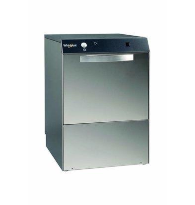 Whirlpool Pro Glass Washing Machine Standard Line 40x40cm | 230V / 400V | Naglansdispenser + Drain pump | 460x515x (H) 680mm
