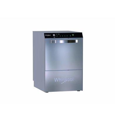 Whirlpool Pro Dishwasher   Standard Line 50x50cm   230v / 400v   Naglansdispenser + Drain pump   570x610x (H) 825mm