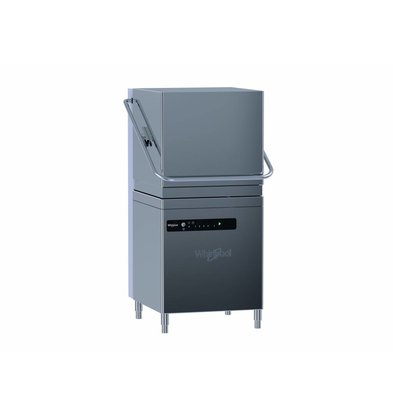 Whirlpool Pro Basic Pass-through Dishwasher | Standard Line 50x50cm | 400V | 6.75 kW | Naglansdispenser | 655x775x (H) 1500 / 1950mm