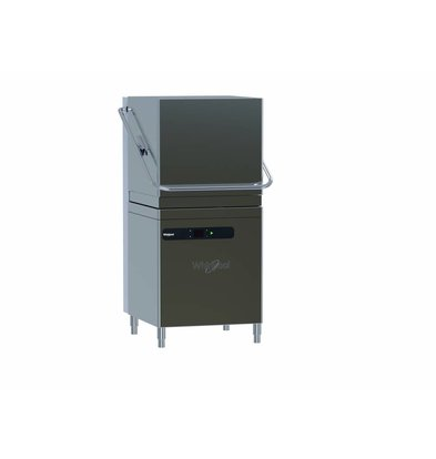 Whirlpool Pro Pass-through dishwasher High Line | 50x50cm | 400V | 11.10 kW | Rinse Dispenser + Drain Pump + Water Softener 650x775x (H) 1500 / 1950mm