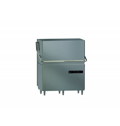 Whirlpool Pro Double Pass-Through Dishwasher High Line | 50x50cm | 400V | Naglansdispenser | 1181X801X (H) 1500/1950