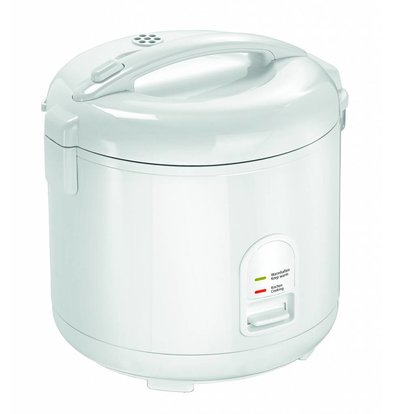 Bartscher Rice cooker Black | 1.8 liters 2-10 Portions 290x262x (H) 293mm - Copy