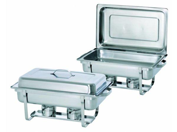 Bartscher Chafing dish Set     1/1 GN   610x355x(H)300mm