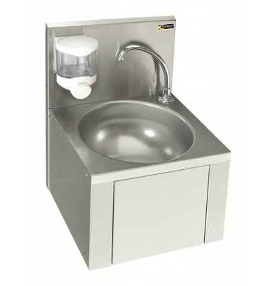 Sofinor Stainless Steel Sink | Knee Operation | For Mixer | + Soap dispenser | 384x353x (H) 524mm