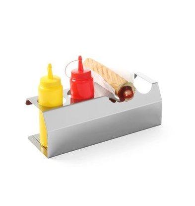 Hendi Würstchen-Standard-Edelstahl - 4 Rolls