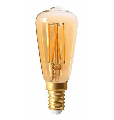 Moodzz Dimmable Filament LED lamp Retro design E14 / ST39 mm 4 W | Per 4