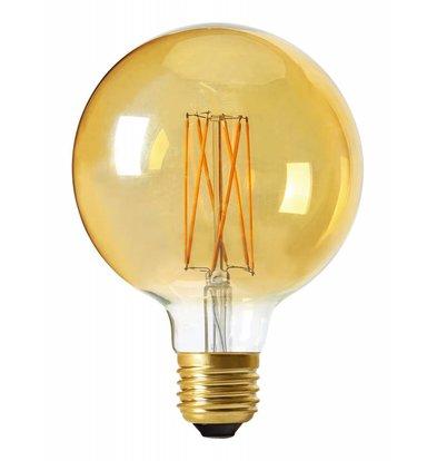 Moodzz Dimbare Filament LED lamp | Retro design | E27 | G125 mm | 4 W | Per 4