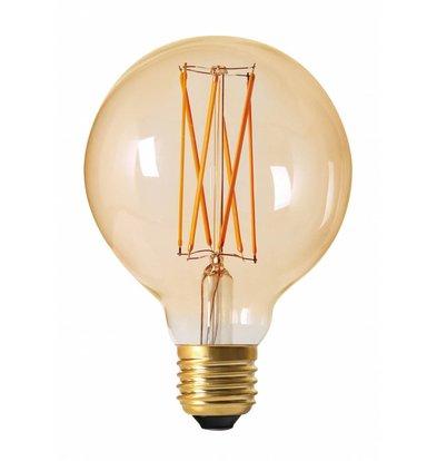 Moodzz Dimbare Filament LED lamp | Retro design | E27 / G95 mm | 4W | Per 4