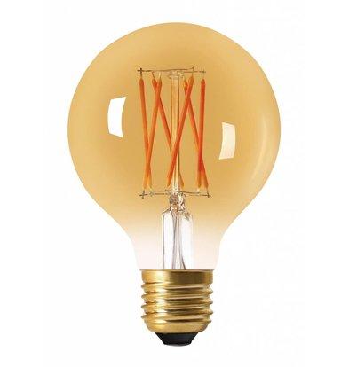 Moodzz Dimbare Filament LED lamp | Retro design | E27 / G80 mm | 4W | Per 4