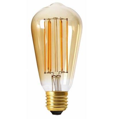 Moodzz Dimbare Filament LED lamp | Retro design | E27 / ST64 mm | 4W | Per 4