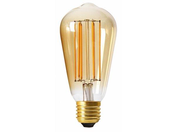 Retro Lampen Led : Moodzz dimmable filament led lamp retro design e27 st64 mm 4w per 4