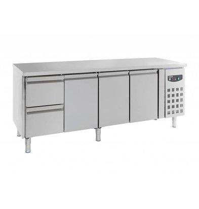 Combisteel Cooling workbench   3 Door and 2 Drawers 553 liters 2230x700x (H) 850mm