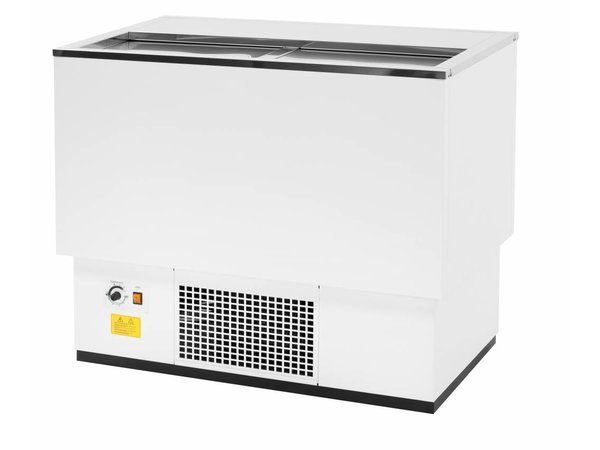Combisteel Cooling box White | Stainless steel lid | 137 liters | 1010x545x (H) 840mm | XXL OFFER