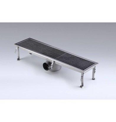 Combisteel Vloerput Rechthoek | 1368x300x(H)200mm