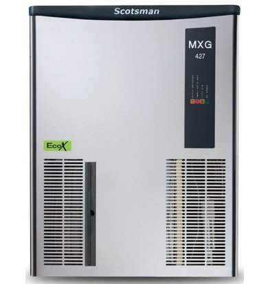 Scotsman Ice cube maker MXG 427 | Gourmet Ice cream 170kg / 24h | Bunker Loose Available 568x704x (H) 721mm