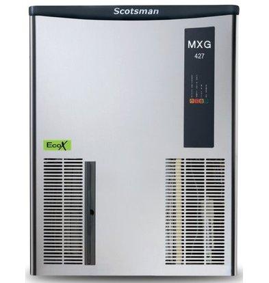 Scotsman IJsblokjesmachine MXG 427 | Gourmet IJs | 170kg/24u | Bunker Los Verkrijgbaar | 568x704x(H)721mm