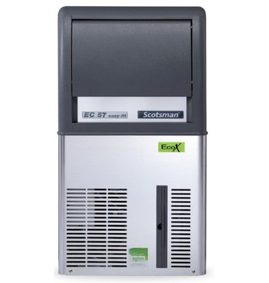 Scotsman Ice machine EC 57 AS | Gourmet Ice cream 33kg / 24h | 12Kg Bunker | 386x600x (H) 695mm With or without drain pump