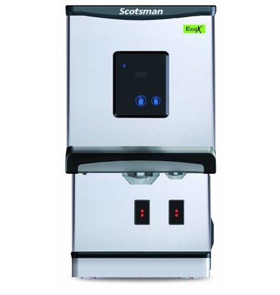 Scotsman Ice and Water Dispenser DXN 207F | Button Operation | Cublets & Ice water | 100kg / 24h | 427x552x (H) 769mm