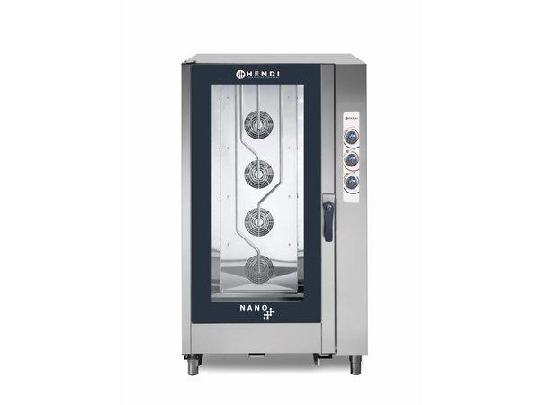 Hendi Combi Steamer Analoog | Nano | 20x 1/1 GN | 1050x940x(H)1900mm