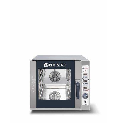 Hendi Combi Steamer Digital Nano | 5x 1/1 GN | 700x714x (H) 628mm