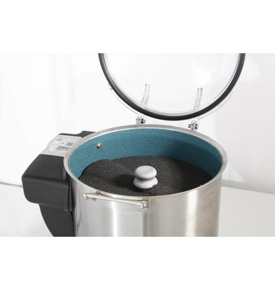 Hendi Potato peeling machine Profi Line 75kg / h | Digital Timer | 530x520x (H) 700mm