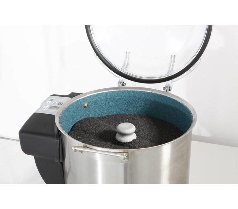 Hendi Aardappel Schilmachine Profi Line | 75kg/u | Digitale Timer | 530x520x(H)700mm