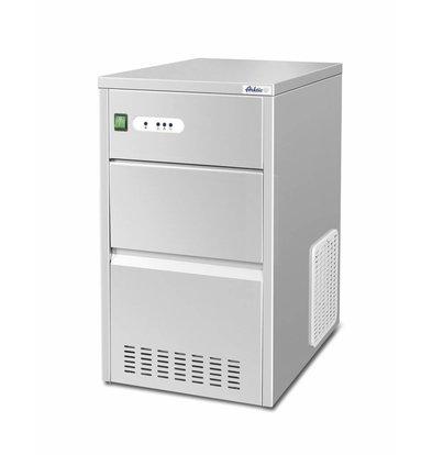 Hendi Holle Ijsblokjesmachine | 26kg/24u | 7kg Opslag | 398x546x(H)682mm