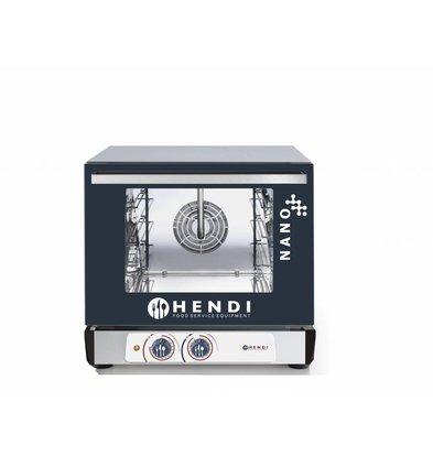 Hendi Hot air oven Analogue | Nano | 4x 450x340mm | 560x595x (H) 530mm