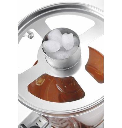 Hendi Dubbele Sapdispenser | 2x 8 Liter | Non-Drip Tapkraan | 580x350x(H)560mm