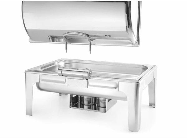 Hendi Chafing Dish Hoogglans   1/1 GN   9 Liter   570x405x(H)320mm