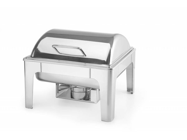 Hendi Chafing Dish Hoogglans | 2/3 GN | 6Liter | 395x405x320mm