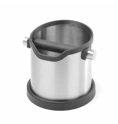 Hendi Round stainless steel tapping tray Detachable Beater Rod | 153x185x (H) 165mm