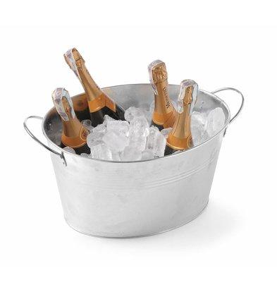 Hendi Ice bucket 18 liters Galvanized Steel 400x330x (H) 220mm