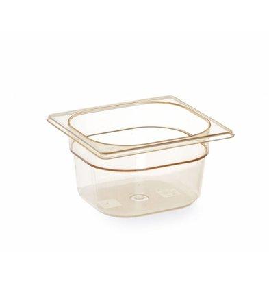 Hendi Gastronorm Bak 1/6 GN | Hittebestendig  -40°C tot 150°C | Beschikbaar in 3 Hoogtes