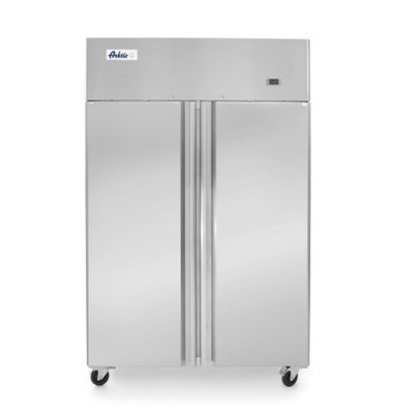 Hendi Refrigerator Profi Line Double door | 900 liters 6 Shelves | On Wheels | 1200x745x (H) 1950mm