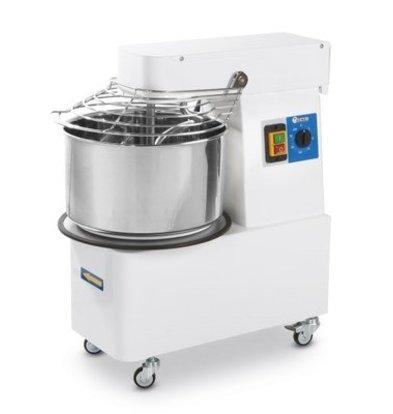 Hendi Deegkneedmachine  Met Vaste Kom | 10 Liter | 35Kg/U | 260x500x(H)500mm