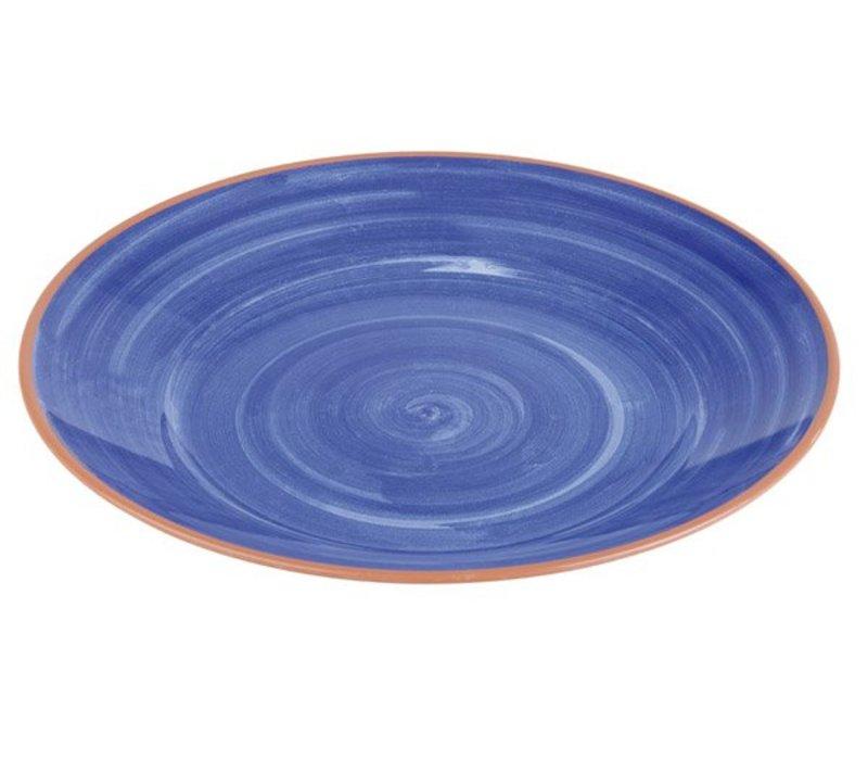 APS FSE Schaal La Vida | Blauw | Melamine | Stapelbaar | Ø40,5x(H)5,5cm