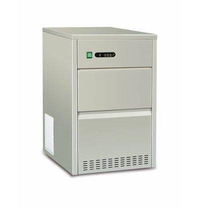 Hendi Hollow Ice Cube Machine | 50kg / 24h | 7kg Storage 398x546x (H) 682mm