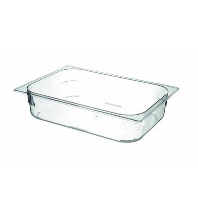 Hendi Ijscontainer Doorzichtig Polycarbonaat |360x250x(H)80mm