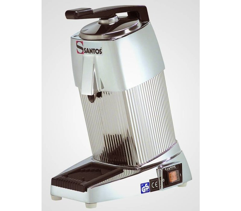 Santos Sinaasappelpers Santos Super Deluxe - Chroom - 230V / 230W - 200x300x(H)380mm