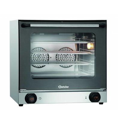 Bartscher Hot air oven AT90-MDI | 4x 438x315mm | Electronic temperature control 595x615x (H) 580mm