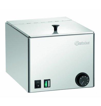 Bartscher Worstenwarmer | 240x300x(H)150mm Bak | Uitneembaar Rooster | 270x360x(H)240mm