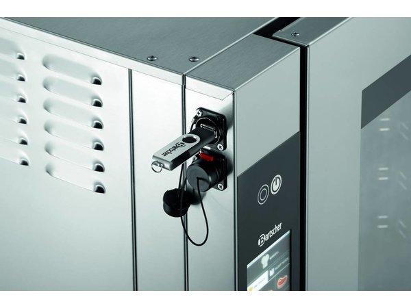Bartscher Combisteamer T Serie   Elektrisch   7x 1/1 GN   875x830x(H)850mm