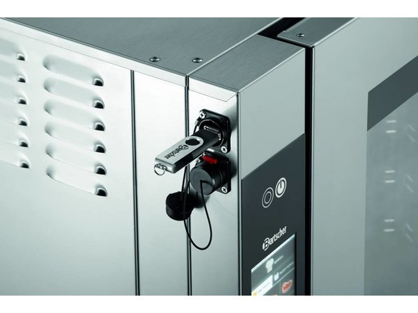 Bartscher Combisteamer T Serie | Elektrisch | 10x 1/1 GN | 875x830x(H)1050mm