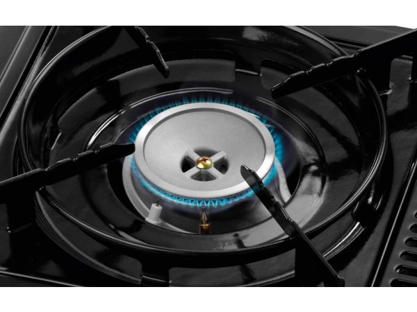 Bartscher Praktische Gasbrander | Inclusief Transportkoffer | Voor Ø150-270mm pannen | 375x290x(H)130mm