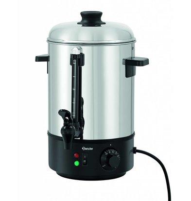 Bartscher Heetwaterdispenser RVS | 6 Liter | 1,8 kW | 280x290x(H)385mm